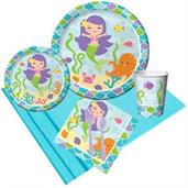 Mermaid Friends Party Pack for 8