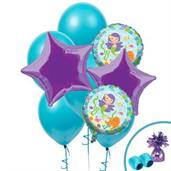 Mermaid Colorful Party Balloons, Numbered Balloons and Balloon Bouquets