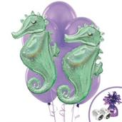 Mermaid Wishes Jumbo Balloon Bouquet