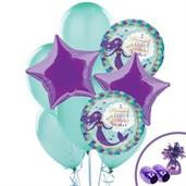Mermaid Wishes Balloon Bouquet