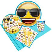 Emoji Party Supplies & Decorations Red