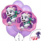 Paw Patrol Colorful Party Balloons, Numbered Balloons and Balloon Bouquets