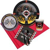 Racecar Racing Party Supplies & Decorations Red