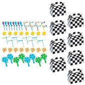Racecar Racing Party Filled Favor Box Kit (For 8 Guests)