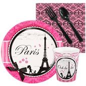 Paris Damask Snack Party Pack For 16