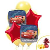 Disney Cars Colorful Party Balloons, Numbered Balloons and Balloon Bouquets