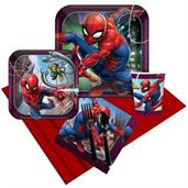 Spiderman Party Supplies & Decorations Red