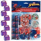 Spiderman Webbed Wonder Filled Favor Box Kit (for 8 Guests)