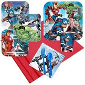 Avengers Party Supplies & Decorations Red