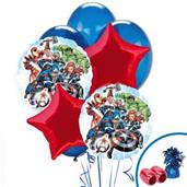 Avengers Colorful Party Balloons, Numbered Balloons and Balloon Bouquets