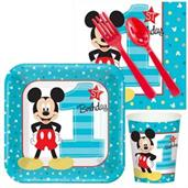 Mickey's 1st Birthday Snack Pack For 16
