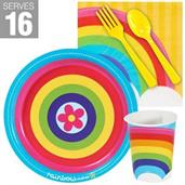Rainbow Wishes Snack Pack For 16