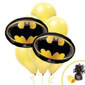 Batman Logo Jumbo Balloon Bouquet