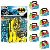Batman Filled Favor Box Kit (For 8 Guests)