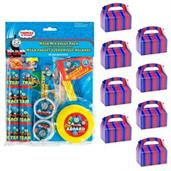 Thomas the Train Filled Favor Box Kit (For 8 Guests)