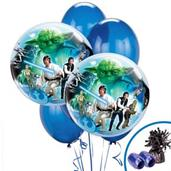 Star Wars Colorful Party Balloons, Numbered Balloons and Balloon Bouquets