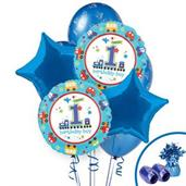 Cars, Trucks & Other Vehicles Colorful Party Balloons, Numbered Balloons and Balloon Bouquets