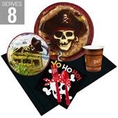 Little Buccaneer Party Supplies & Decorations Green