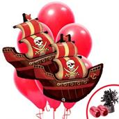 Pirate Party Supplies & Decorations Red