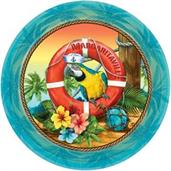"Margaritaville 9"" Lunch Plate (18)"