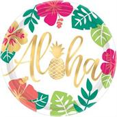 "You had me at Aloha 10"" Lunch Plate"