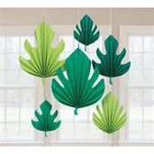 You had me at Aloha Palm Leaf Shaped Fand Decoration