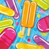 Ice Cream Beverage Napkins (16 Count)