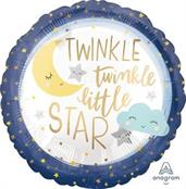 Twinkle Little Star Standard Foil Balloon