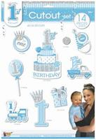 1st Birthday Blue Cutout Set (14)