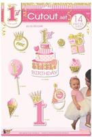 1st Birthday Pink Cutout Set (14)