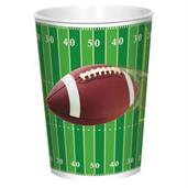 Football Party 16oz Plastic Favor Cup (1)