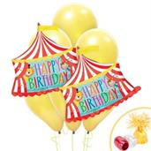 Circus Tent Jumbo Balloon Bouquet