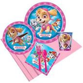 Pink Paw Patrol Party Pack for 8