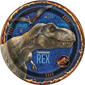 "Jurassic World 2 9"" Lunch Plate (8)"