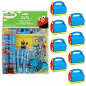 Sesame Street Favor Kit (For 8 Guests)