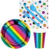 Metallic Rainbow Snack Pack for 16