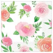 Floral Baby Napkins