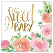 Floral Baby Lunch Napkin (16)