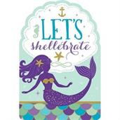 Mermaid Wishes Postcard Invitations (8)