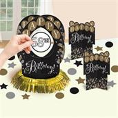 Sparkling Celebration Add-any-Age Table Decoration Kit