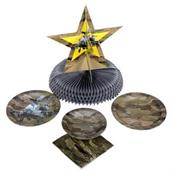 "Military Camo Party 9"" Lunch Plates (8)"