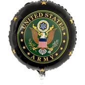 US Army Mylar Balloon with Crest