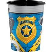 Police Party 16oz Plastic Favor Cup (1)