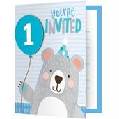 1st Birthday Bear Invitation (8)