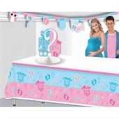 Gender Reveal Tablecover