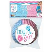 Gender Reveal Baking Cups (75ct)