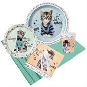 Rachael Hale Cats Rule Party Pack for 8