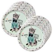 Rachael Hale Cats Rule Lunch Plates (24)