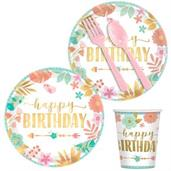 Boho Birthday Party Supplies & Decorations