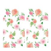 Floral Baby Paper Tablecovers (2)